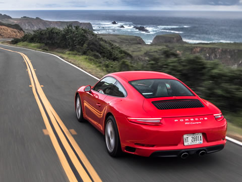 2017 Porsche 911 Carrera performance
