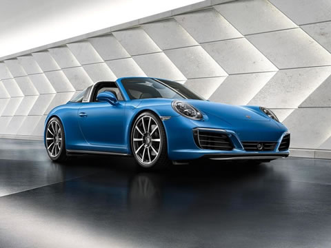 2017 Porsche 911 Targa performance