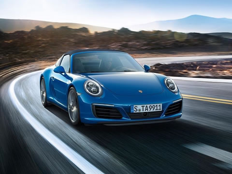 2017 Porsche 911 Targa safety