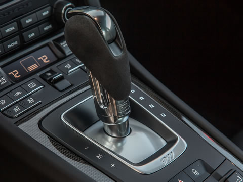 PDK: revised gear selector strategy and transmission programming