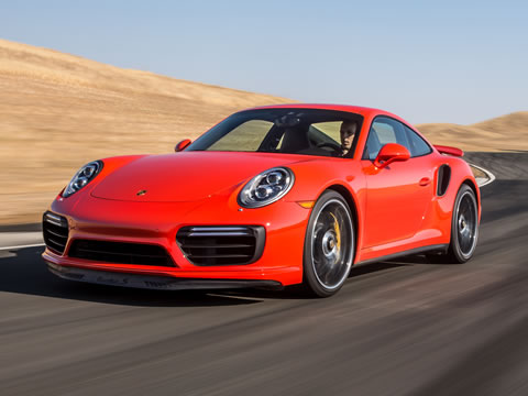 Sport Chrono Package standard on all 911 Turbo models