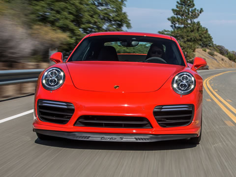 Differentiation: 911 Turbo S has different turbochargers for the first time
