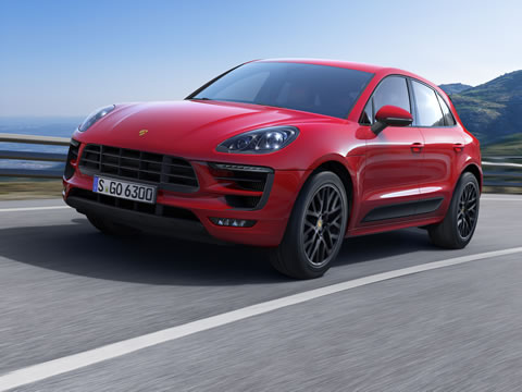 2017 Porsche Macan safety