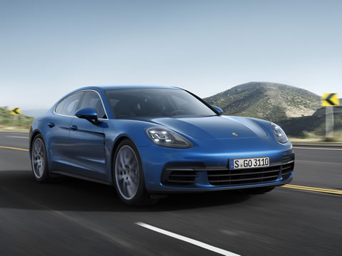 The design of the new Panamera forges a link to the Porsche 911