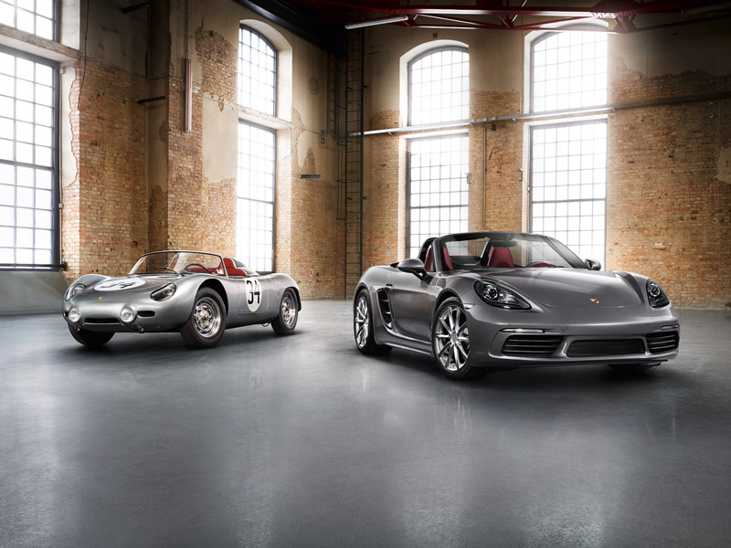 The new Boxster is the sequel that continues the 718 era. At their heart, a four-cylinder