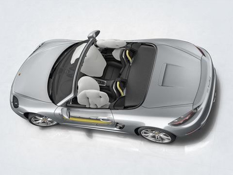 Airbags and Porsche Side Impact Protection System (POSIP)
