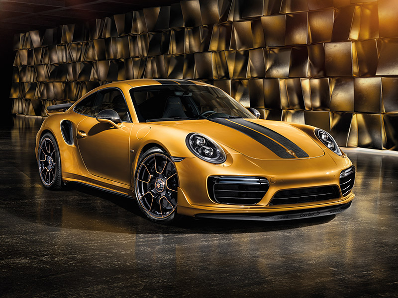 2018 Porsche 911 Turbo S Exclusive appearance