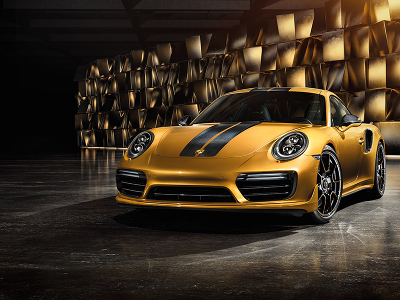2018 Porsche 911 Turbo S Exclusive comfort