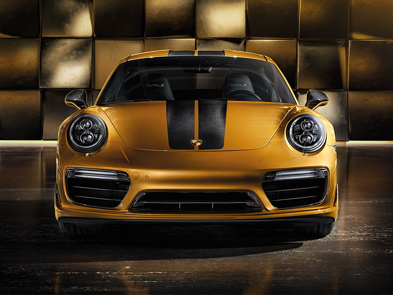 911 Turbo S Exclusive engine
