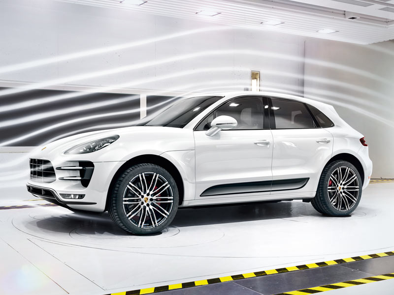 2018 Porsche Macan Turbo appearance