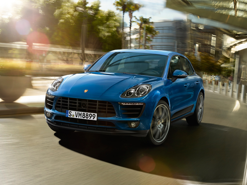 2018 Porsche Macan Turbo performance