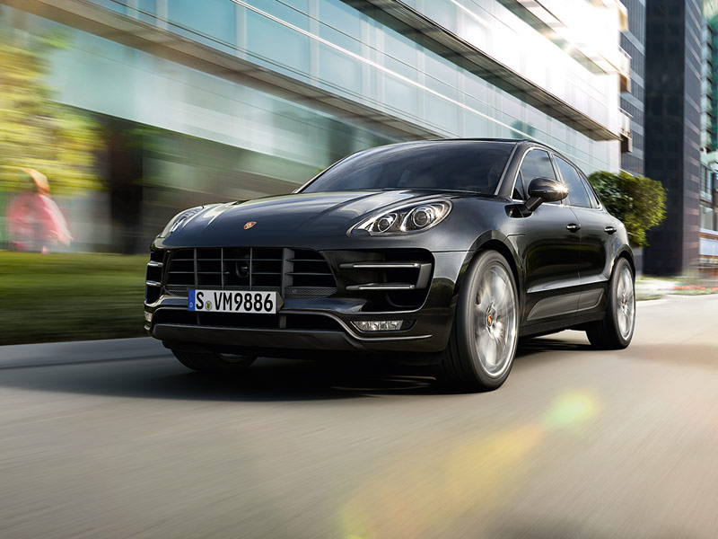 2018 Porsche Macan Turbo safety