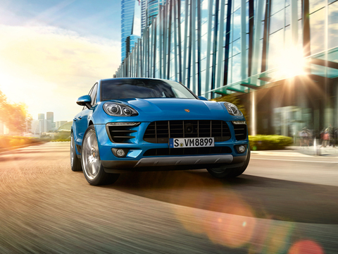 2018 Porsche Macan safety