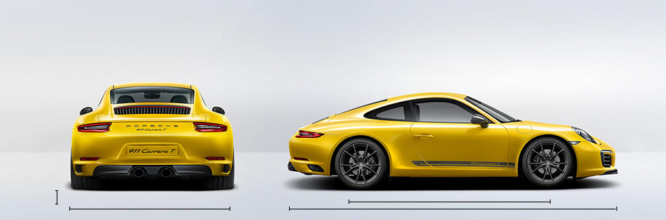 2019 Porsche 911 Carrera T Specifications