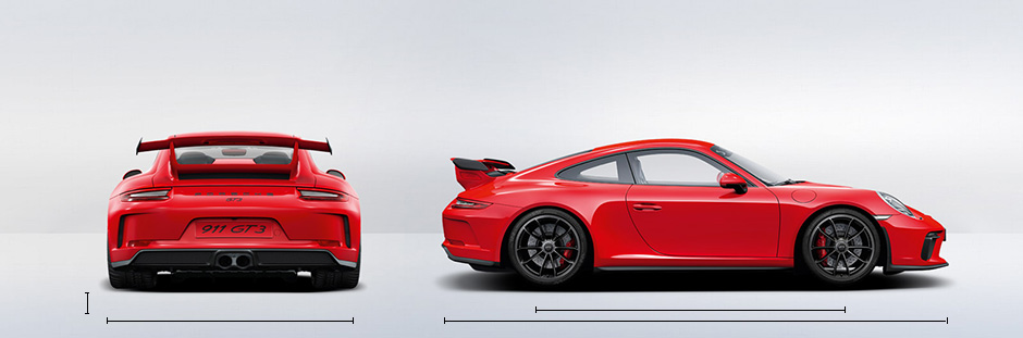 2019 Porsche 911 GT3 Specifications