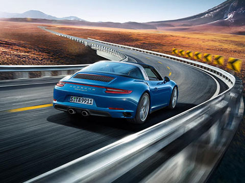 2019 Porsche 911 Targa 4 performance