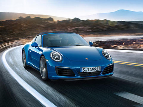 2019 Porsche 911 Targa 4 safety