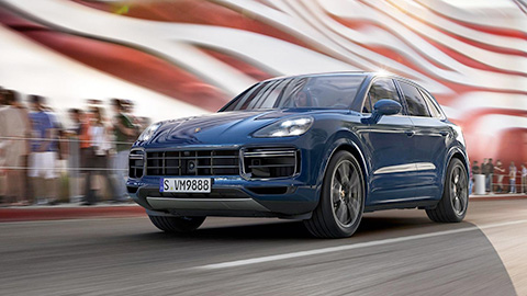 2019 Porsche Cayenne Turbo performance