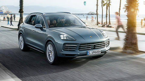 2019 Porsche Cayenne Turbo safety