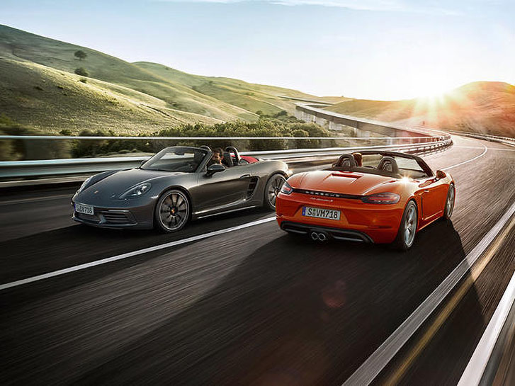 2020 Porsche 718 Boxster performance