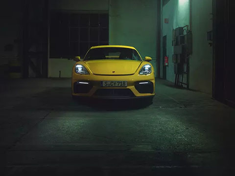 2020 Porsche 718 Cayman GT4 safety