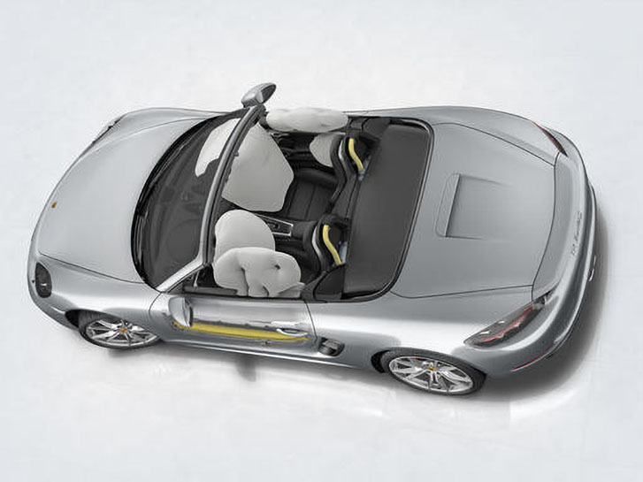 2020 Porsche 718 Cayman safety
