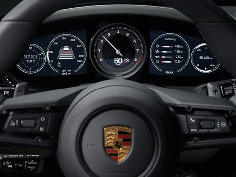 2020 Porsche 911 Carrera safety