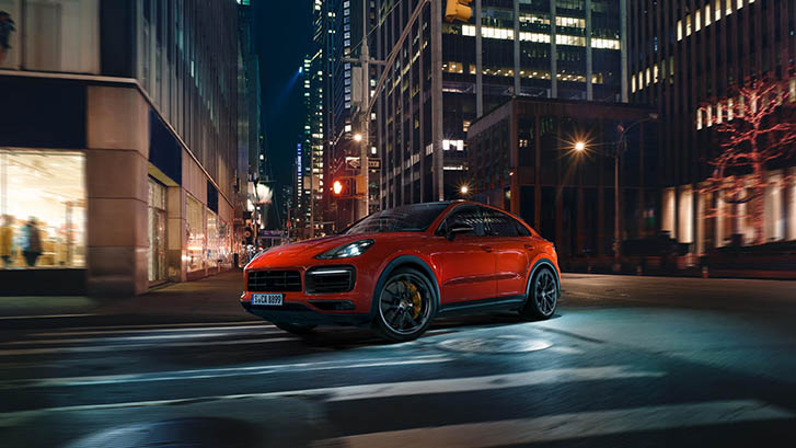 2020 Porsche Cayenne Coupe performance
