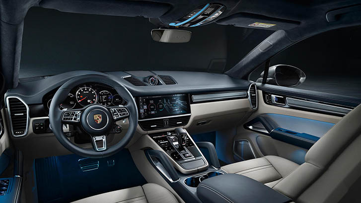 2020 Porsche Cayenne Coupe safety