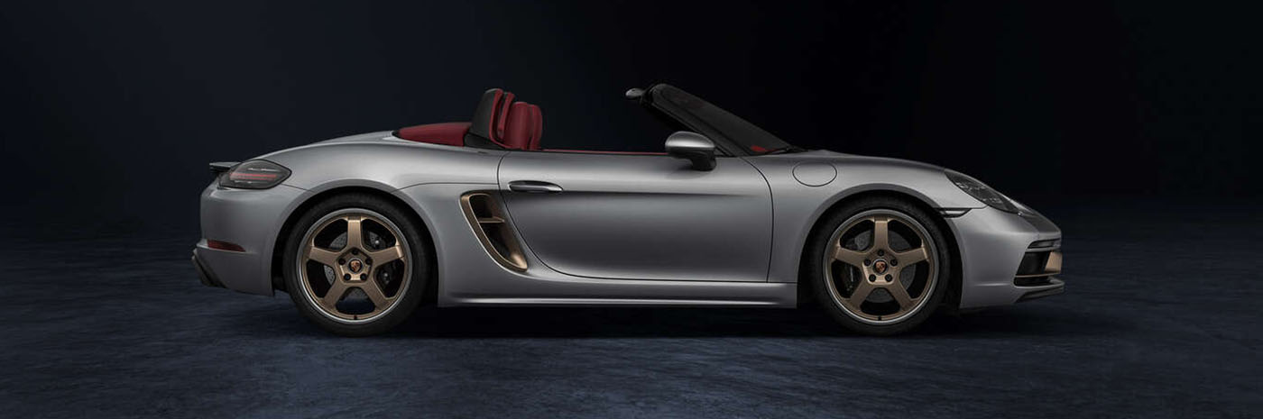 2021 Porsche 718 Boxster 25 Years Appearance Main Img