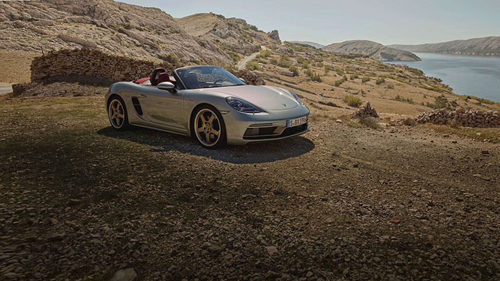 2021 Porsche 718 Boxster 25 Years appearance