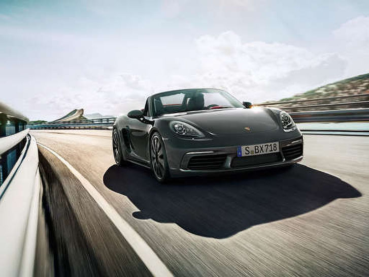 2021 Porsche 718 Cayman performance