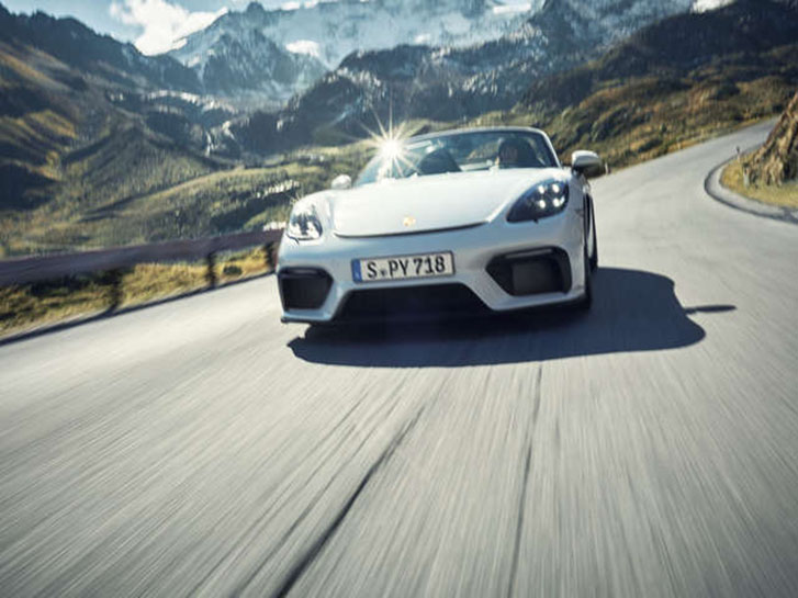 2021 Porsche 718 Spyder performance