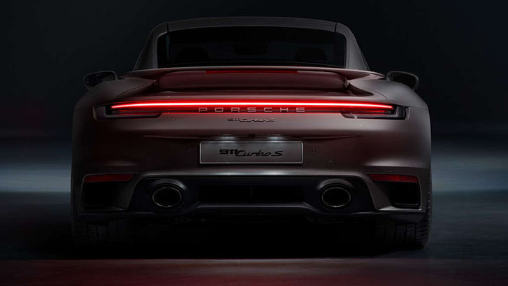 2021 Porsche 911 Turbo appearance