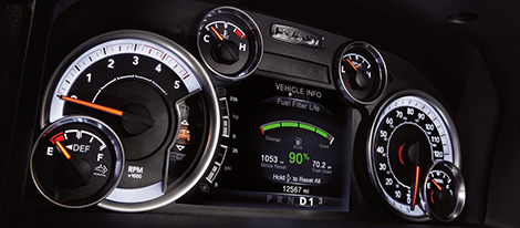 Full-Color 7-Inch Cluster Display