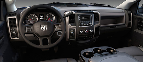 2017 RAM Chassis Cab comfort