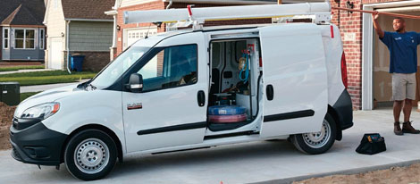 2018 RAM Promaster City payload