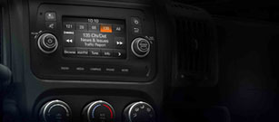 2018 RAM Promaster Uconnect
