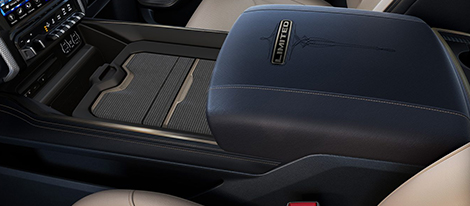 Class-Exclusive Center Console