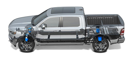 2019 RAM 1500 Air Suspension