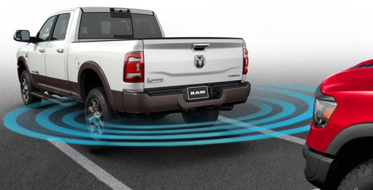 Parksense® Front And Rear Park Assist