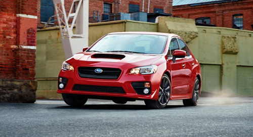 2015 Subaru WRX performance