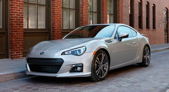 2016 Subaru BRZ safety