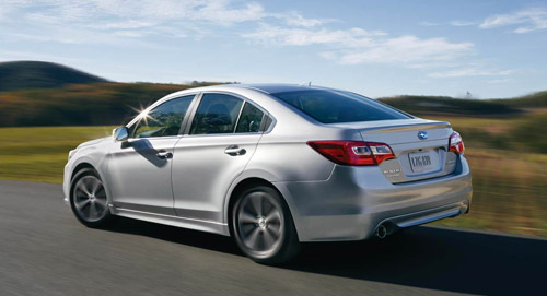 2016 Subaru Legacy performance