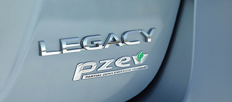 Partial Zero Emissions Vehicle (PZEV)