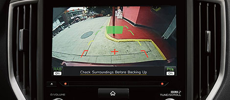 Rear-Vision Camera and Reverse Automatic Braking