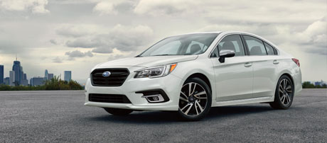 2018 Subaru Legacy performance