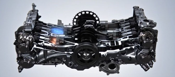 152-hp Direct-Injection SUBARU BOXER Engine