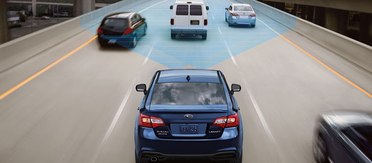 Standard EyeSight Driver Assist Technology