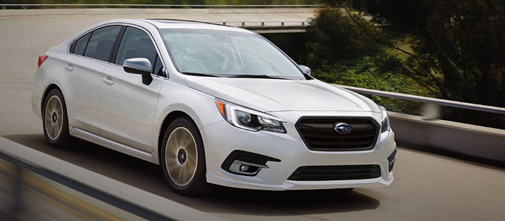 2019 Subaru Legacy performance